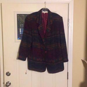 Vintage Aztec south western design blazer jacket